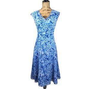 Coldwater Creek Silk Cap Sleeve Dress-N1199